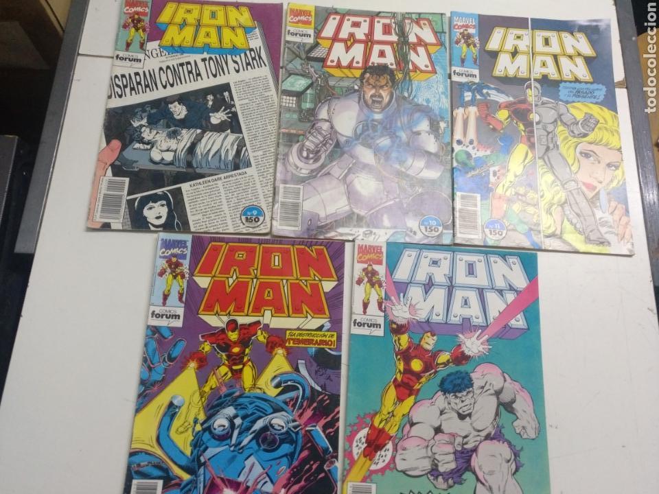 Cómics: Iron Man Vol. 2 Lote de 8 N° 1-6-8-9-10-11-12-14 (Forum) - Foto 2 - 152441336