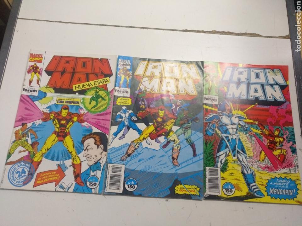 IRON MAN VOL. 2 LOTE DE 8 N° 1-6-8-9-10-11-12-14 (FORUM) (Tebeos y Comics - Forum - Iron Man)