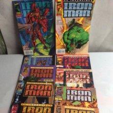 Cómics: IRON MAN HEROES REBORN , LOTE 11 EJEMPLARES ( COLECCION DE 12 NÚMEROS ) Nº 1 AL 11. Lote 56310464