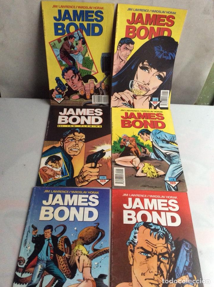 JAMES BOND LOTE DE 6 EJEMPLARES Nº 1 AL 6 -EDITA : FORUM (Tebeos y Comics - Forum - Otros Forum)
