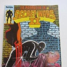 Cómics: SECRET WARS II - Nº 16 PATRULLA X FORUM 1986 E2. Lote 152547854