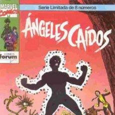 Cómics: ANGELES CAIDOS COMPLETA 1 AL 8 - FORUM - BUEN ESTADO - OFSF15. Lote 152548478