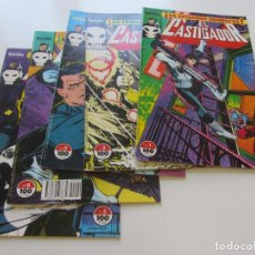 Cómics: LOTE EL CASTIGADOR NºS 1, 2, 3, 4 Y 5 ( MIKE BARON ) FORUM C17. Lote 152554798