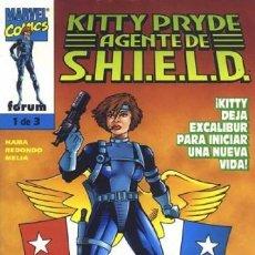 Cómics: KITTY PRYDE. AGENTE DE SHIELD COMPLETA 1 AL 3 - FORUM - BUEN ESTADO - OFSF15. Lote 152565022