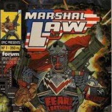 Cómics: MARSHALL LAW COMPLETA 1 AL 6 - FORUM - BUEN ESTADO - OFSF15. Lote 152567822