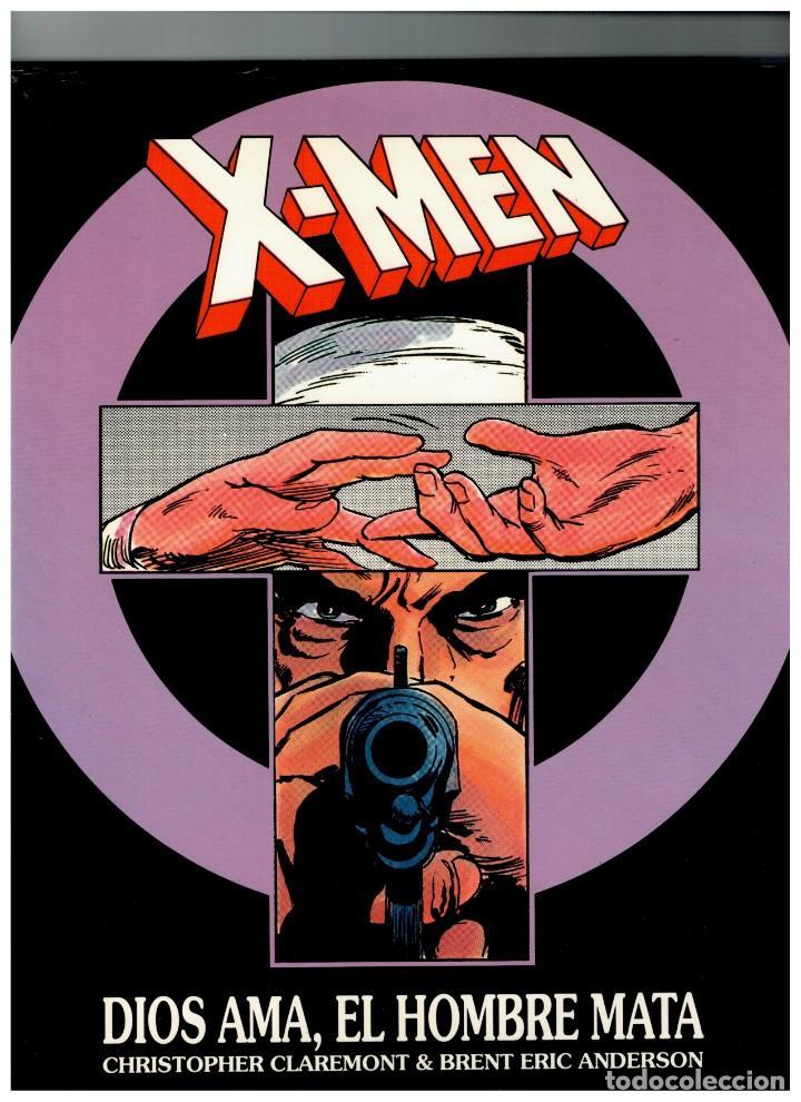 X-MEN -DIOS AMA,EL HOMBRE MATA-EDICIÓN ESPECIAL NUMERADA,EJEMPLAR Nº 2356.FORUM,1993.EXCELENTE. (Tebeos y Comics - Forum - X-Men)