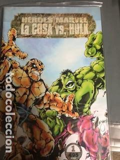 HEROES MARVEL: LA COSA VS LA MASA, CABALLERO LUNA, MASTER OF KUN-FU (Tebeos y Comics - Forum - Otros Forum)