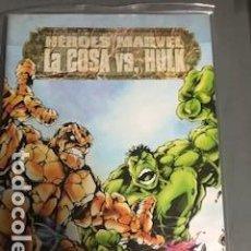 Cómics: HEROES MARVEL: LA COSA VS LA MASA, CABALLERO LUNA, MASTER OF KUN-FU. Lote 152629186