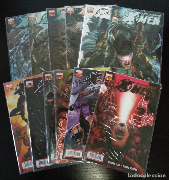 X-MEN ASTONISHING VOL 3 - 12 PRIMEROS NUMEROS (Tebeos y Comics - Forum - X-Men)