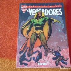 Cómics: BIBLIOTECA MARVEL LOS VENGADORES Nº 10 ( ROY THOMAS GENE COLAN ) ¡BUEN ESTADO! FORUM . Lote 152905122
