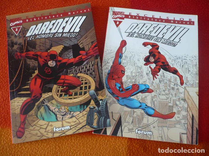 BIBLIOTECA MARVEL DAREDEVIL NºS 2 Y 3 ( STAN LEE KIRBY ) ¡MUY BUEN ESTADO! FORUM (Tebeos y Comics - Forum - Daredevil)
