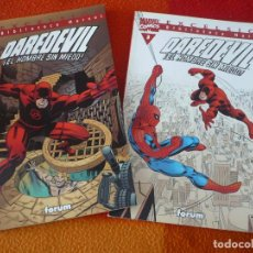 Cómics: BIBLIOTECA MARVEL DAREDEVIL NºS 2 Y 3 ( STAN LEE KIRBY ) ¡MUY BUEN ESTADO! FORUM . Lote 152905838