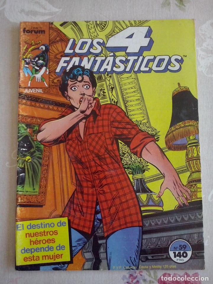 FORUM - 4 FANTASTICOS VOL.1 NUM. 59 (Tebeos y Comics - Forum - 4 Fantásticos)