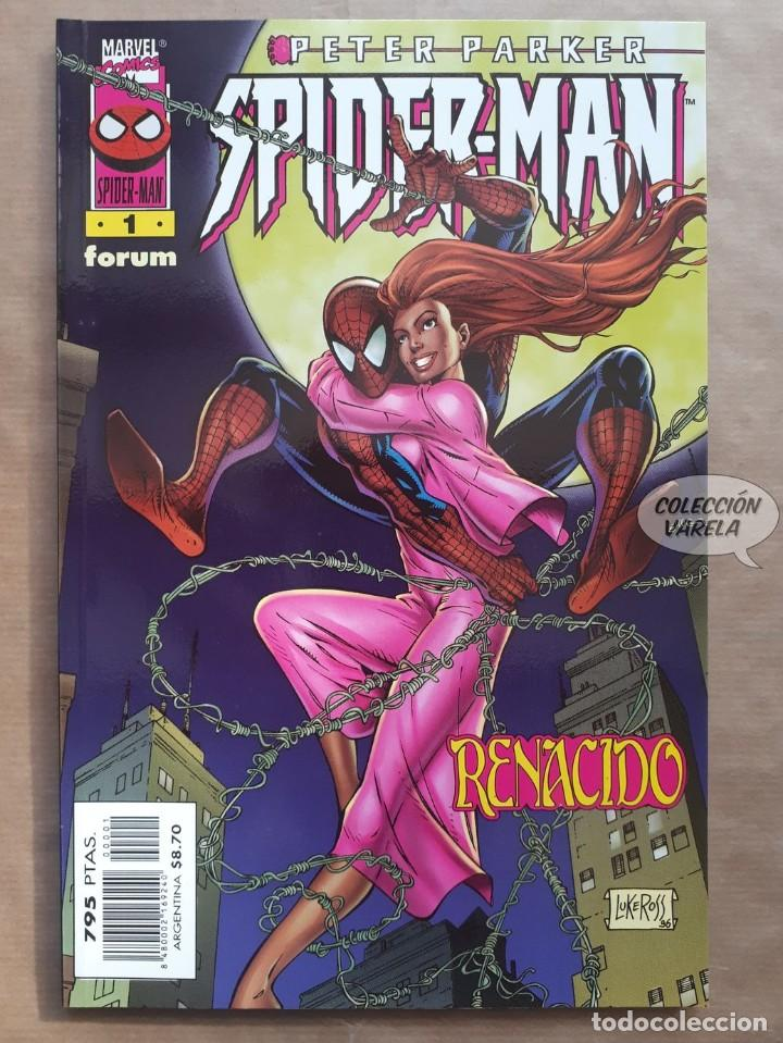 SPIDERMAN VOL 4 PETER PARKER - Nº 1 RENACIDO - FORUM - JMV (Tebeos y Comics - Forum - Prestiges y Tomos)