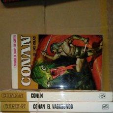 Cómics: NOVELAS CONAN 1ª EDICION - BRUGUERA. Lote 153447794