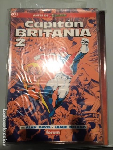CAPITAN BRITANIA 1 A 2 ALAN DAVIS + DELANO (Tebeos y Comics - Forum - Prestiges y Tomos)