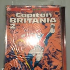 Cómics: CAPITAN BRITANIA 1 A 2 ALAN DAVIS + DELANO. Lote 191651305