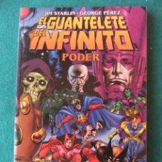 Cómics: EL GUANTALETE DEL INFINITO PODER EDICIONES FORUM. Lote 153544842