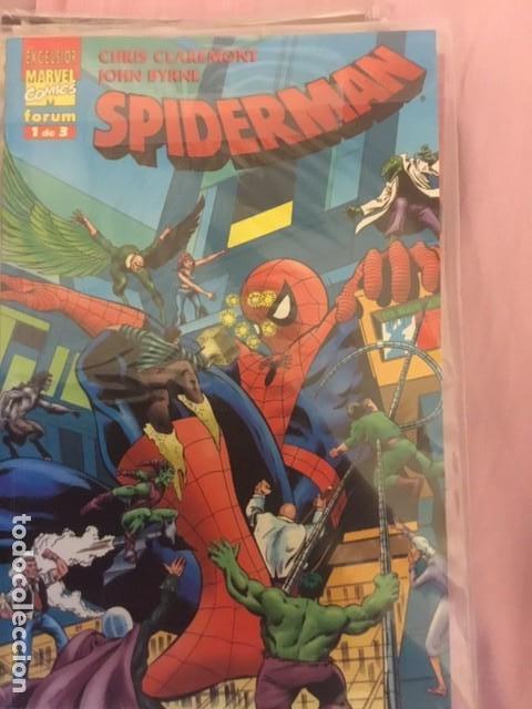 SPIDERMAN CLAREMONT BYRNE 1-2-3 (Tebeos y Comics - Forum - Prestiges y Tomos)