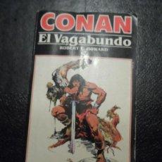 Cómics: CONAN Nº 4: CONAN EL VAGABUNDO - ROBERT E. HOWARD NOVELA EDICIONES FORUM . Lote 153599138