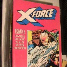 Cómics: X-FORCE RETAPADO 5. Nº 25 AL 29. FORUM, 1994.. Lote 153683906