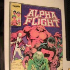 Cómics: ALPHA FLIGHT Nº 01 AL 05. FORUM, 1985.. Lote 153684626