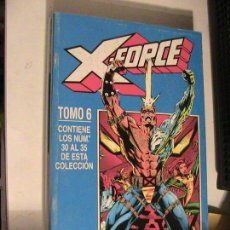Cómics: X-FORCE RETAPADO 6. Nº 30 AL 35. FORUM, 1994.. Lote 153686718