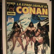 Cómics: ESPADA SALVAJE DE CONAN RETAPADO 59-60-61. FORUM.. Lote 153738870