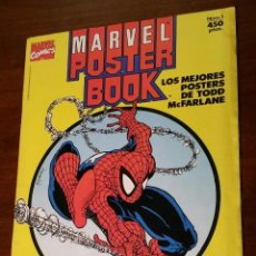 Cómics: LIBRO DE POSTERS SPIDERMAN POSTER BOOK. Lote 153841762