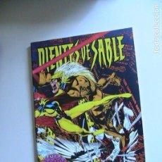 Cómics: DIENTES DE SABLE - EN LA ZONA ROJA. FORUM, 1996.. Lote 153913074