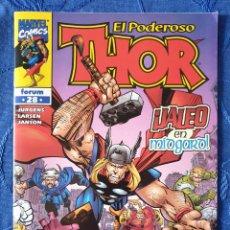 Comics : EL PODEROSO THOR VOL. 4 - N° 28 - ADAM JURGENS - FORUM - DESCATALOGADO. Lote 153933374