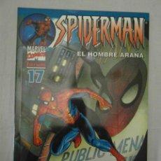 Cómics: SPIDERMAN EL HOMBRE ARAÑA 17. FORUM. PERFECTO ESTADO. Lote 153948558