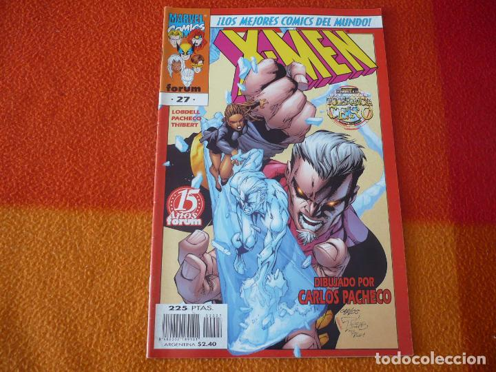 X MEN VOL. 2 Nº 27 ( LOBDELL PACHECO ) ¡BUEN ESTADO! MARVEL FORUM (Tebeos y Comics - Forum - X-Men)
