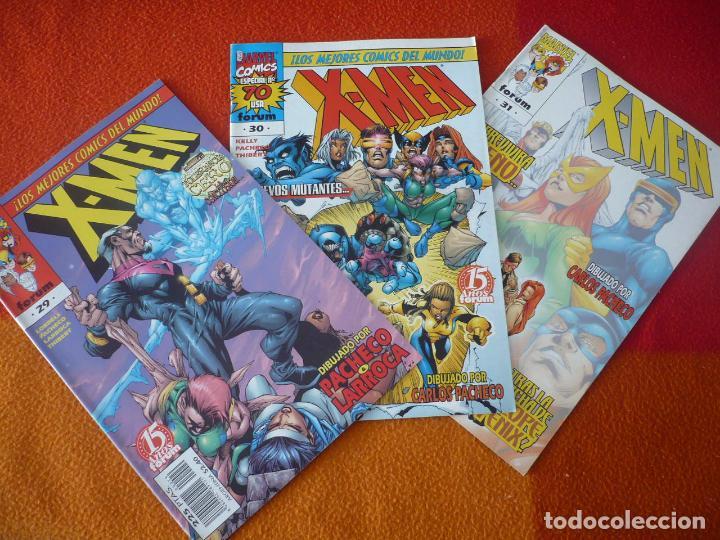 X MEN VOL. 2 NºS 29, 30 Y 31 ( KELLY PACHECO LOBDELL ) ¡BUEN ESTADO! MARVEL FORUM (Tebeos y Comics - Forum - X-Men)