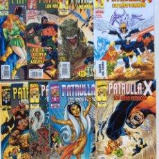 Cómics: LOTE 8 CÓMICS PATRULLA X, LOS AÑOS PERDIDOS (FORUM). Lote 153978200