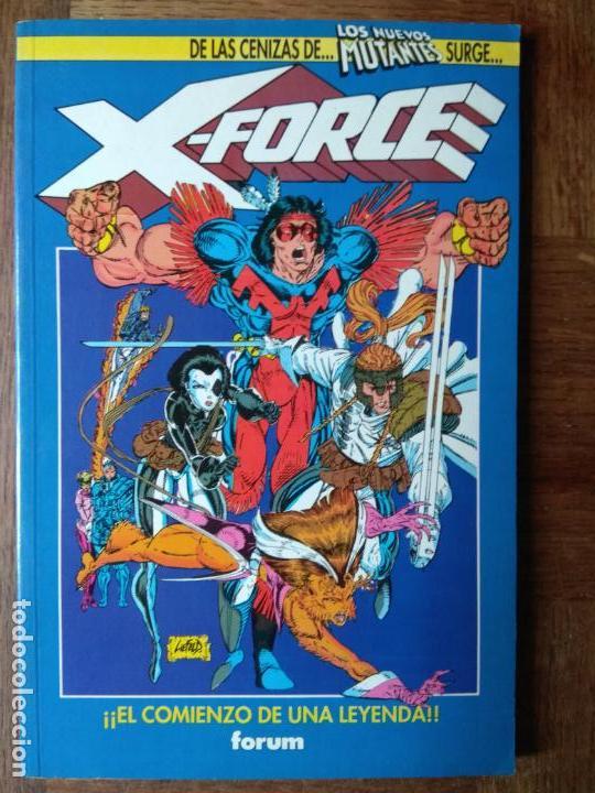 LOS NUEVOS MUTANTES, TOMO: ULTIMOS NUMEROS + Nº 1 DE X-FORCE (Tebeos y Comics - Forum - Nuevos Mutantes)
