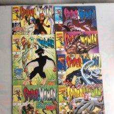 Cómics: SPIDERWOMAN, LOTE DE 7 EJEMPLARES -EDITA : FORUM - SPIDER WOMAN. Lote 36895434
