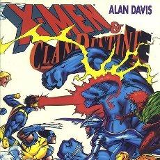 Cómics: X-MEN & CLANDESTINE - TOMO FORUM. ALAN DAVIS.. Lote 154043650