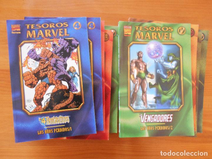 TESOROS MARVEL COMPLETA - 10 TOMOS - FORUM (FH) (Tebeos y Comics - Forum - Prestiges y Tomos)