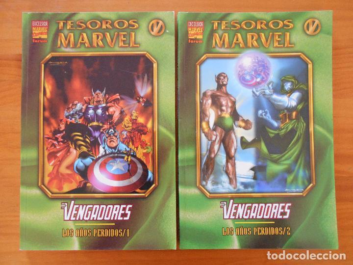 Cómics: TESOROS MARVEL COMPLETA - 10 TOMOS - FORUM (FH) - Foto 4 - 154128390