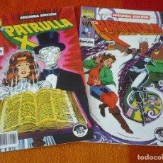 Cómics: LA PATRULLA X NºS 32 Y 33 SEGUNDA EDICION ( CLAREMONT ) ¡BUEN ESTADO! MARVEL FORUM . Lote 154230946