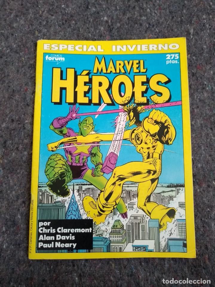 MARVEL HÉROES ESPECIAL INVIERNO - CHRIS CLAREMONT & ALAN DAVIS (Tebeos y Comics - Forum - Nuevos Mutantes)