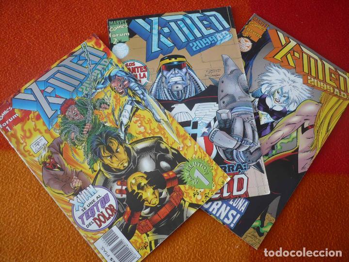 X MEN 2099 VOL. 2 NºS 1, 2 Y 3 ( RON LIM ) ¡BUEN ESTADO! MARVEL FORUM (Tebeos y Comics - Forum - X-Men)