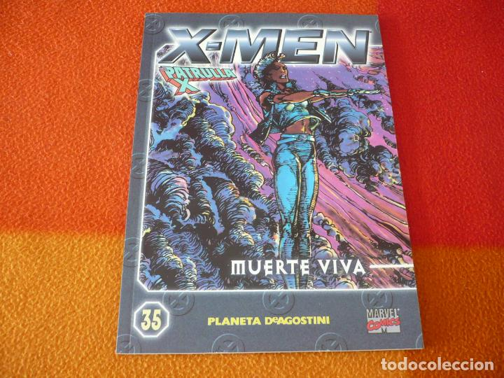 X MEN COLECCIONABLE Nº 35 MUERTE VIVA ( CLAREMONT ) ¡BUEN ESTADO! PATRULLA X FORUM MARVEL (Tebeos y Comics - Forum - X-Men)