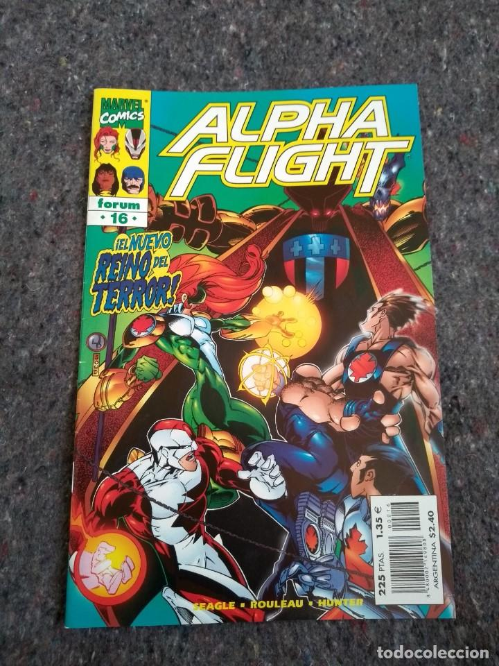ALPHA FLIGHT Nº 16 VOLÚMEN 2 (Tebeos y Comics - Forum - Alpha Flight)