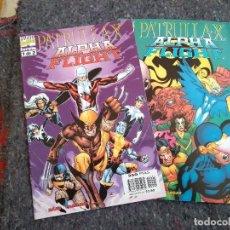 Fumetti: PATRULLA X / ALPHA FLIGHT NºS 1 Y 2 - COMPLETA. Lote 154235778