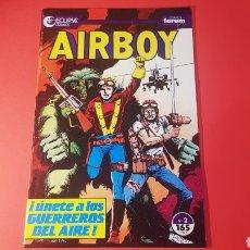 Cómics: EXCELENTE ESTADO AIRBOY 2 FORUM ECLIPSE COMICS. Lote 154249761