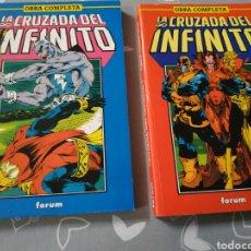 Cómics: LA CRUZADA DEL INFINITO 11 COMPLETA 2 TOMOS WARLOCK FORUM. Lote 154258946