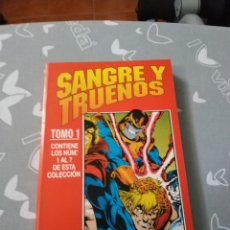 Cómics: THOR SANGRE Y TRUENOS 7 NÚMEROS TOMO FORUM. Lote 154262926