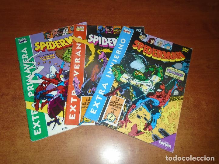 SPIDERMAN EXTRA PRIMAVERA, VERANO E INVIERNO 1ª, 2ª Y 3ª PARTES DE LA AVENTURA DIMINUTA DE SPIDEY (Tebeos y Comics - Forum - Spiderman)